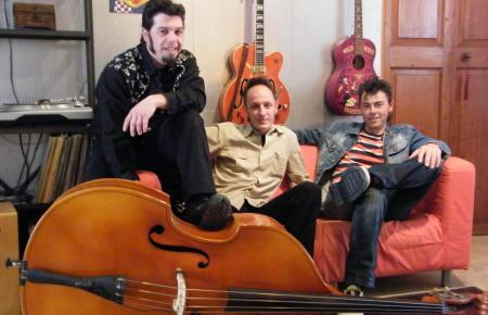 """BLACK CATS"" als Rockabilly Band Mallorcas"