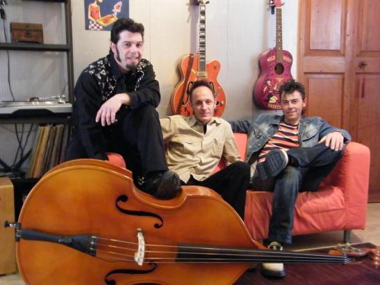 """""""BLACK CATS"""" als Rockabilly Band Mallorcas"""