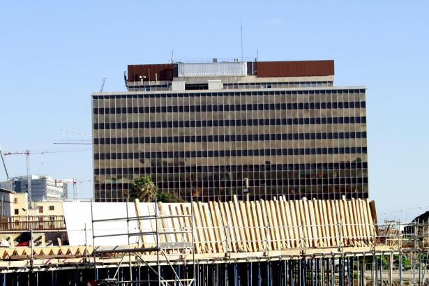 Kubischer Zankapfel: Der ehemalige Firmensitz des Energieversorgers Gesa/Endesa in Palma.