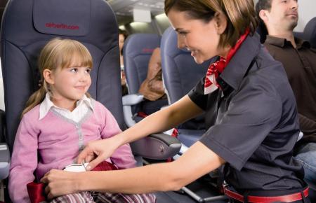Viele Airlines auf der Mallorca-Route bieten Betreuungsservice für alleinreisende Kinder, auf Wunsch bis 16 Jahre, an.