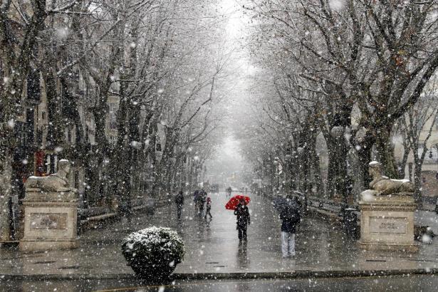Frösteltemperaturen in Palma – wie hier am El Borne.