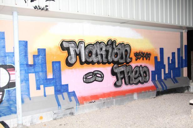 Einige der Grafittis sind regelrechte Kunstwerke, die Stadtverwaltung sieht sie allerdings gar nicht gerne.