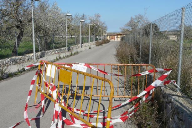 Zugang gesperrt: Am Bahnhof von Sant Joan hält künftig kein Zug mehr.