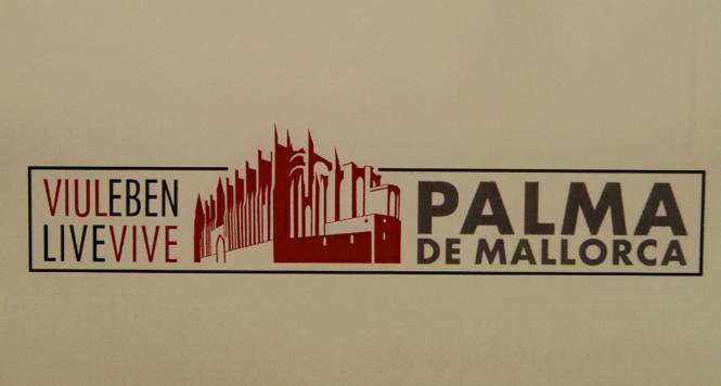 """""""Palma de Mallorca"""": Einer der Entwürfe aus der Vorauswahl für das neue Logo der Stadt."""