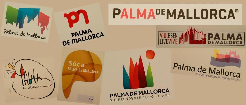 """""""Palma de Mallorca"""": Weitere Entwürfe aus der Vorauswahl für das neue Logo der Stadt."""