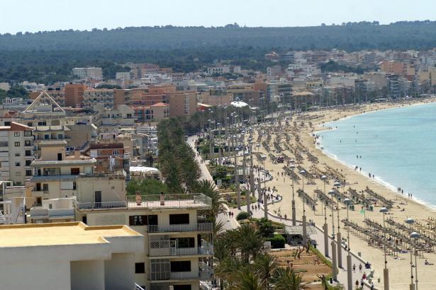 Für den Integralen Sanierungsplan der Playa de Palma ist vorerst kein Geld vorhanden.