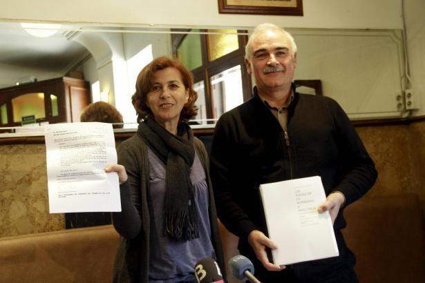 Wollen den Bürgerkriegsopfern ihre Identität und Würde zurückgeben: Maria Antònia Oliver, Präsidentin des Vereins Memòria de Mal