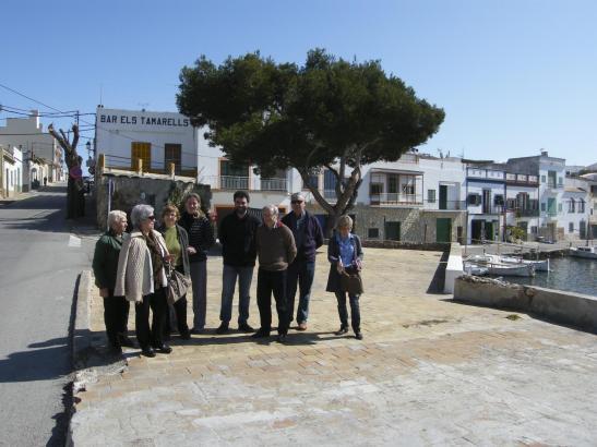"""Abrissgegner wollen mit einer Unterschriftensammlung und Anwälten das Gebäude der Bar """"Els Tamarells"""" bewahren."""