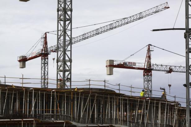 Der Bausektor auf den Balearen hat starke Verluste hinnehmen müssen.