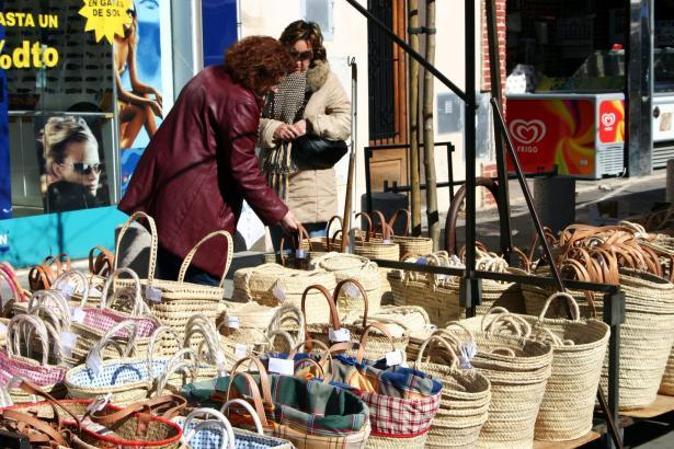 Korbwaren sind eines der VorzeigeProdukte  im Nordosten der Insel.