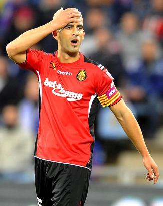 Mallorcas Kapitän Nunes traf gegen Gijón zum 0:1 für Mallorca.