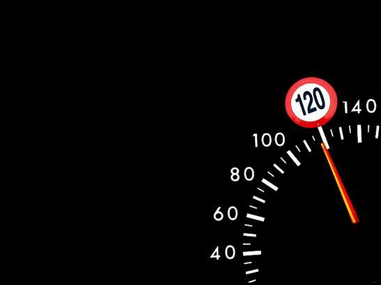 Die Obergrenze der Geschwindigkeit auf spanischen Autobahnen soll möglicherweise angehoben werden.