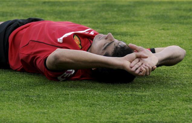 Mallorcas Uruguayer Gonzalo Castro im Spiel gegen den FC Granada.