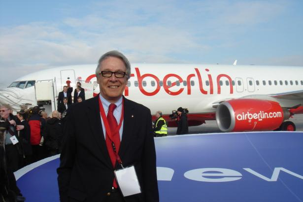 Álvaro Middelmann, Spanien-Direktor von Air Berlin.