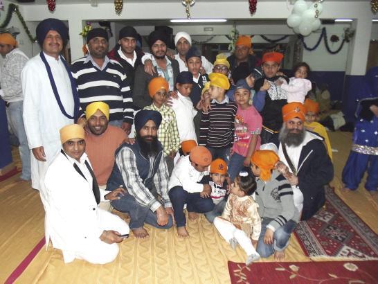 Sikhs in Palma, seit etwa zehn Jahren beten sie in einem eigenen Tempel.