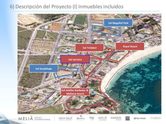 An diesen Stellen will die Meliá-Gruppe ihre Häuser umbauen.