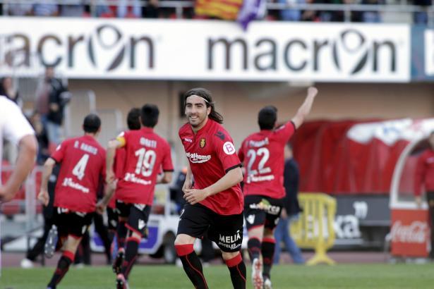 Jubel bei Real Mallorca: Der Inselklub konnte die Liga halten.