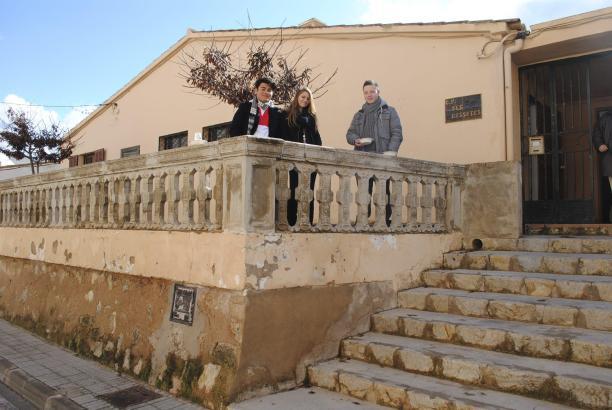 Das Schulgebäude in Port d'Andratx.