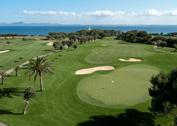 Der Golfplatz Alcanada befindet sich im Norden Mallorcas.