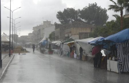 Regen verwässert die Firas, 6.5.2012