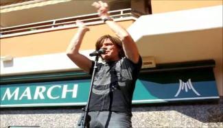"Jürgen Drews Café-Eröffnung ""König von Mallorca"" 2012"