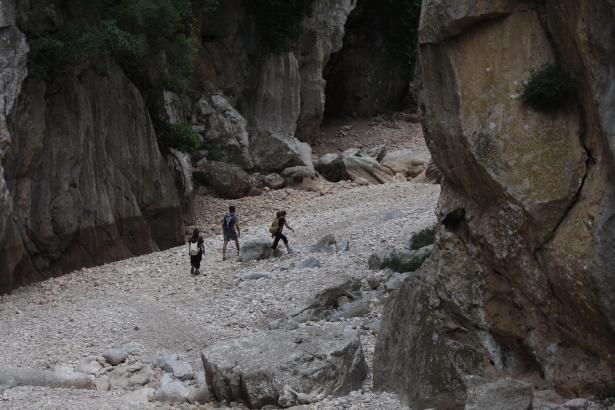 Der Torrent de Pareis bei Escorca zieht jedes Jahr unzählige Wanderer an.