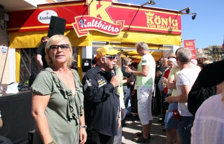 """Jürgen Drews 2012 Saisonstart Bistro """"König von Mallorca"""""""
