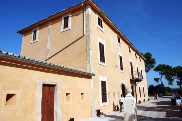 Landgut und Museum-Finca Son Real bei Santa Margalida.