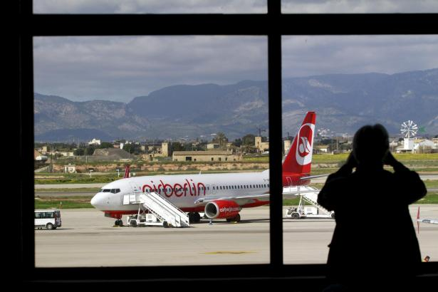 Air Berlin ist Marktführer an Palmas Airport Son Sant Joan.