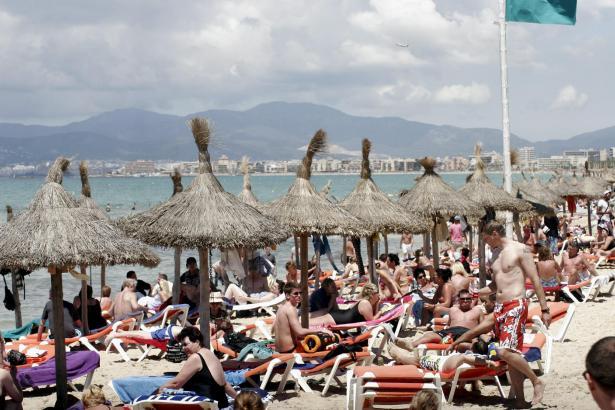 Dank des Tourismus  geht es der Wirtschaft auf den Balearen besser als in anderen spanischen Regionen.
