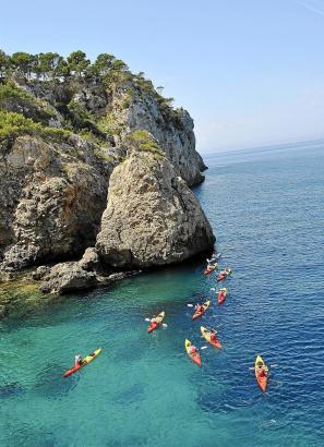Kayak Piraguismo Malgrats Santa Ponça