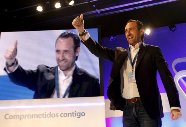 Der balearische PP-Chef Bauzá bringt die Delegierten auf dem Parteikongress in Palma hinter sich und wird im Parteivorsitz bestä