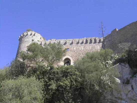 Die Burg von Santueri bei Felanitx.