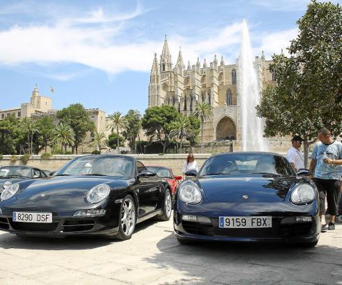 Nahezu alle Modelle sind auf den Balearen vertreten. Im Frühjahr hat der hiesige Porsche-Club die magische Schwelle von 50 Mitgl