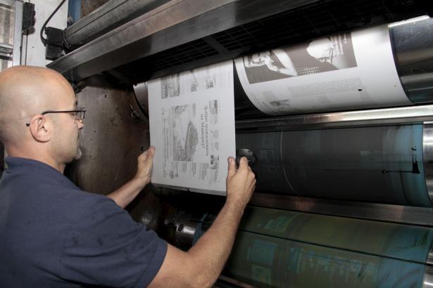 In der Nacht gedruckt: Mallorca hat jetzt eine Zeitung in russischer Sprache.