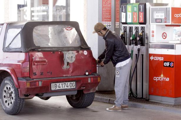 Vor Steuern gehören die Treibstoffpreise in Spanien zu den höchsten.