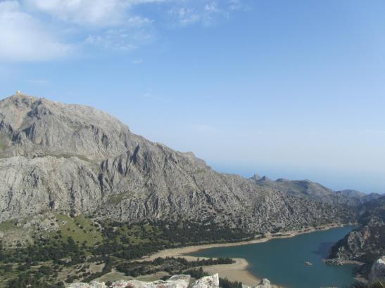 Palmas Trinkwasserbedarf wird zum Großteil aus den Stauseen Gorg Blau und Cúber im Tramuntana-Gebirge gedeckt.
