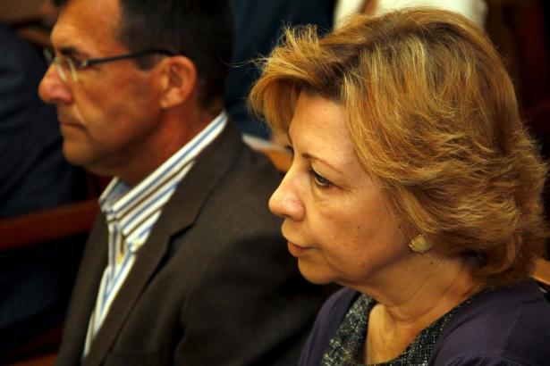 Maria Antònia Munar und Miquel Nadal im Mai auf der Anklagebank.