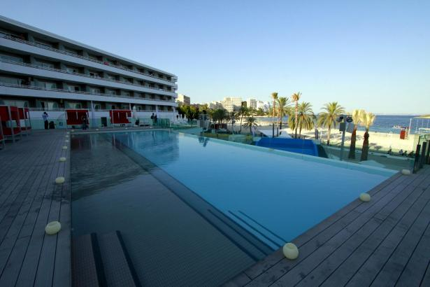 Hotel in Magaluf.