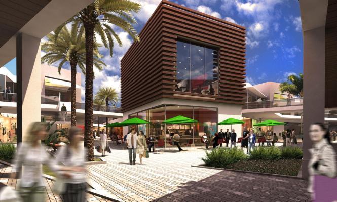 So soll das geplante Einkaufszentrum nach einer Fotomontage des Architektenbüros Broadway Malyan im Herbst 2014 aussehen.