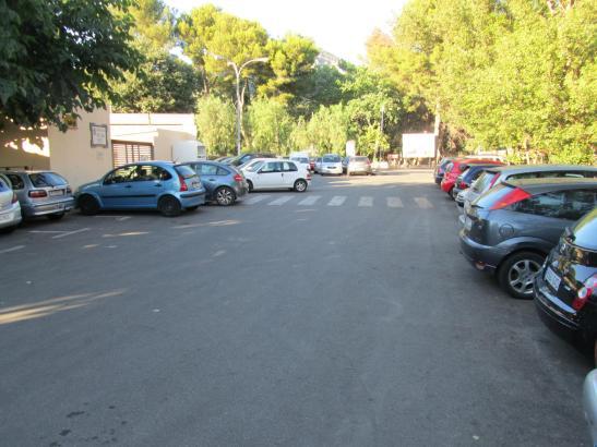 Der Parkplatz an der Kirche in Port de Sóller ist nun ebenfalls kostenpflichtig.