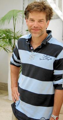 "Engagiert als Botschafter bei der José-Carreras Leukämie-Stiftung: Johannes Brandrup. Beim ""Charity Cup"" in Palma trat er mit Sc"