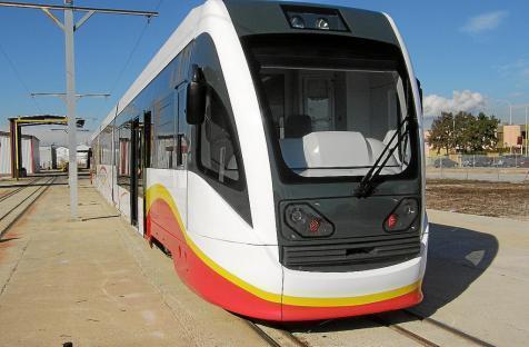 Die neuen Züge der Bahngesellschaft SFM.