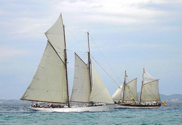 Schön anzusehen: Schiffe, die an längst vergangene Zeiten erinnern.