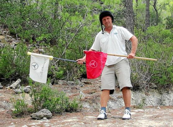 Für einen flüssigeren Spielverlauf kam Thies Wolter bei der MM-Golftrophy im vergangenen Jahr als Fore-Caddy zum Einsatz.