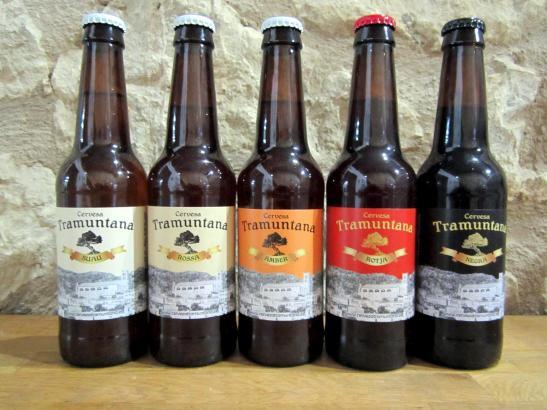 """Das Bier aus Selva wird unter dem Namen """"Tramuntana"""" verkauft und ist inselweit an etwa 50 Punkten erhältlich."""