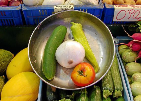 Auch aus Gemüse lassen sich komplexe Menüs zaubern.