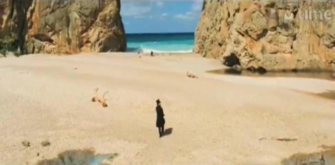 """Szene aus """"Cloud Atlas"""", gedreht im Torrrent de Pareis."""