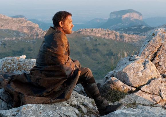 "Szene aus ""Cloud Atlas"" mit Tom Hanks im Tramuntana-Gebirge."