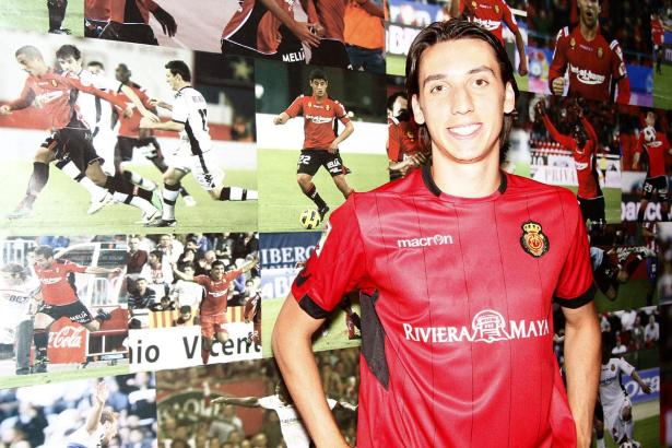 Geromel hat gegen La Coruña sein erstes Tor für Mallorca erzielt.